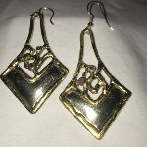Vintage Silver & Gold Earrings